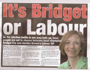 Bridget or Labour