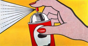 Roy-Lichtenstein-Spray--1962-52741