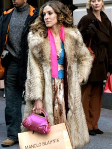 carrie bradshaw fur