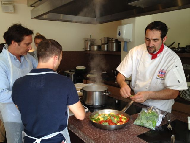 cucina caldesi cookery school
