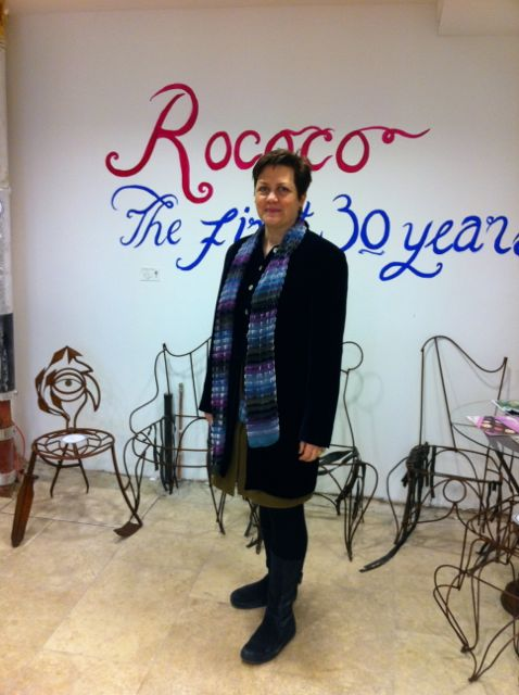 The one and only Chantal Coady, founder of Rococo Chocolates