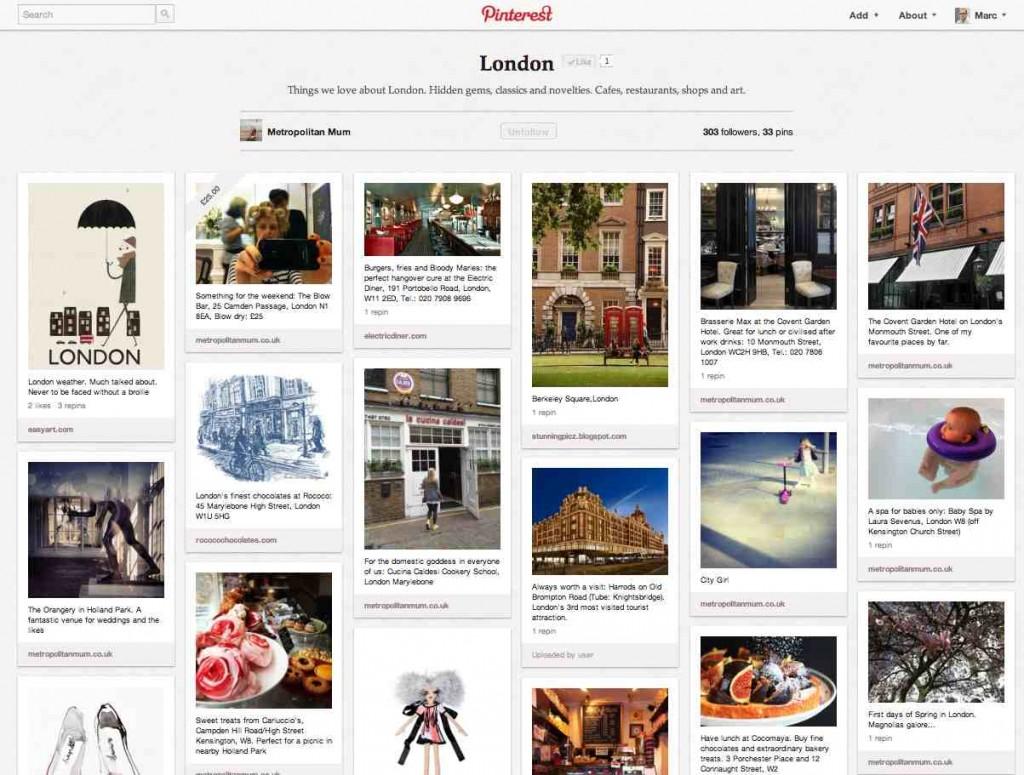 Pinterest MetropolitanMum London