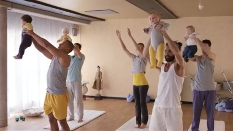 Really funny clip on yoga in Sweden :-)
